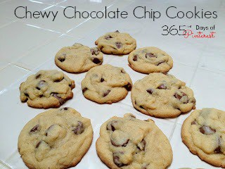 Day 8: Chewy Chocolate Chip Cookies with Henry