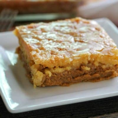 Pumpkin Dump Cake: easy fall dessert