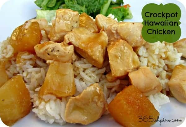 Day 116: Crock Pot Hawaiian Chicken