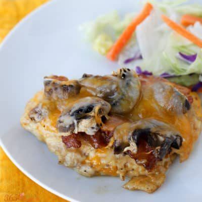 "This easy copycat Alice Springs Chicken recipe is a packed with flavor! It's a great way to break up the familiar ""chicken"" routine."