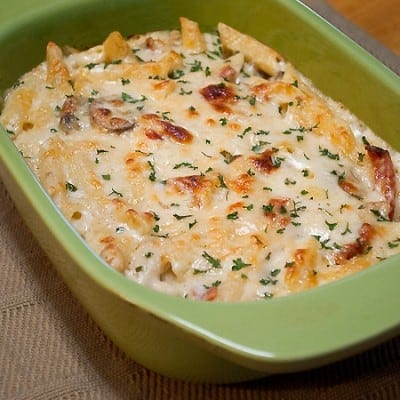 Day 184: Baked Cheesy Chicken Penne