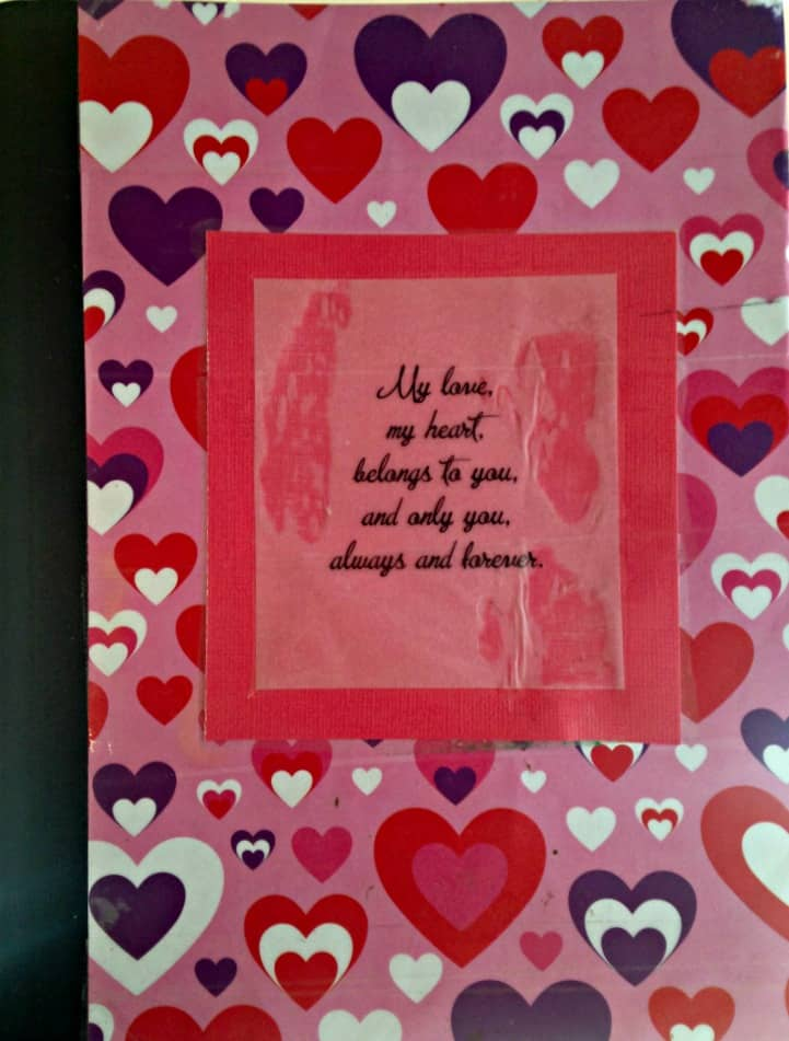Day 185: Love Letter Journal