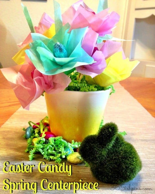 Easter Candy Spring Centerpiece