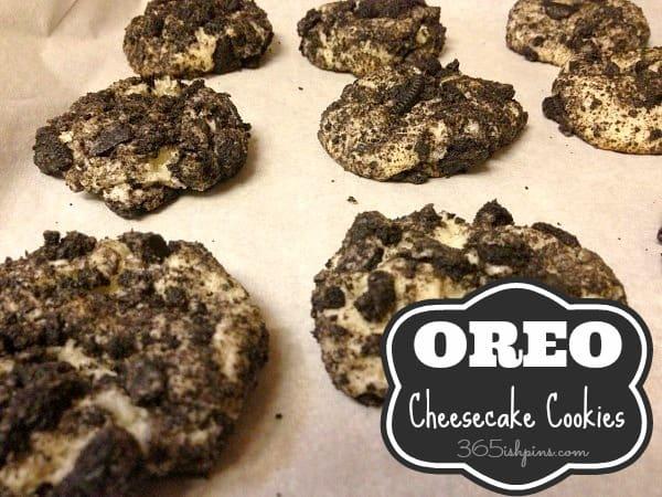 Day 267: Oreo Cheesecake Cookies