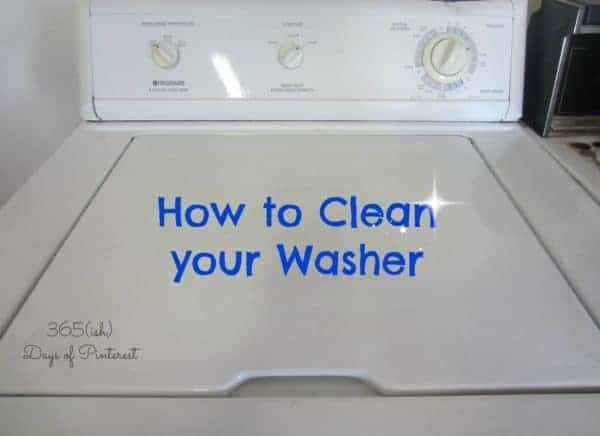 Vol. 2, Day 14: How to Clean Your Washer