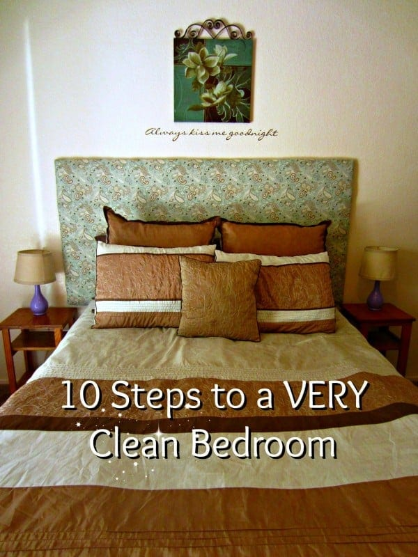 vol 2 day 18 ten steps to deep clean your bedroom
