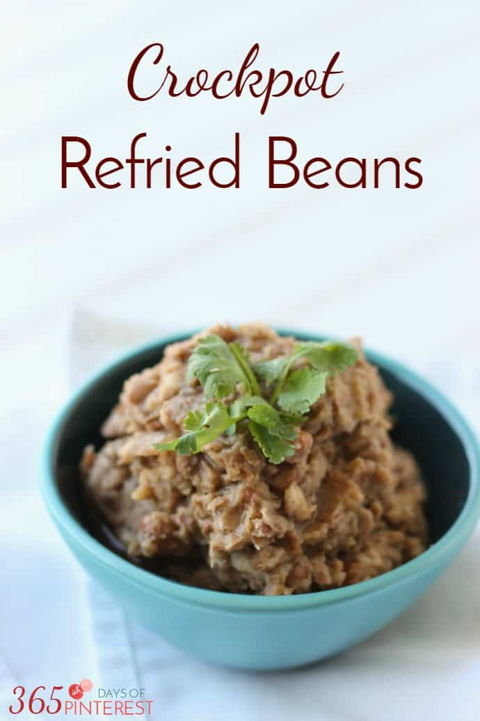 These Crockpot Refried Beans are SO good (even if they aren't ...