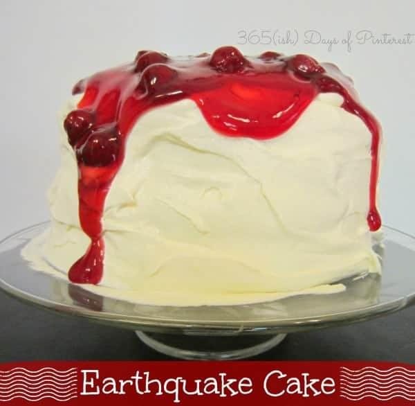 Earthquake Cake-Church Cookbook Series
