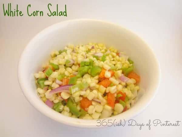 White Corn Salad-Church Cookbook Series
