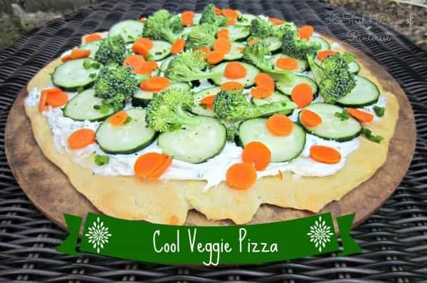 Cool Veggie Pizza-Church Cookbook Series