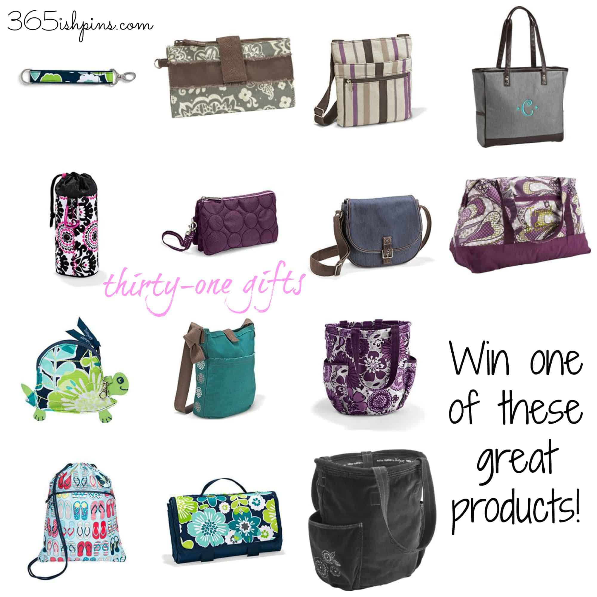 thirty-one giveaway prizes