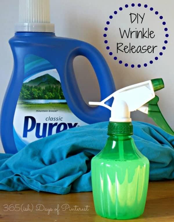 DIY Wrinkle Releaser