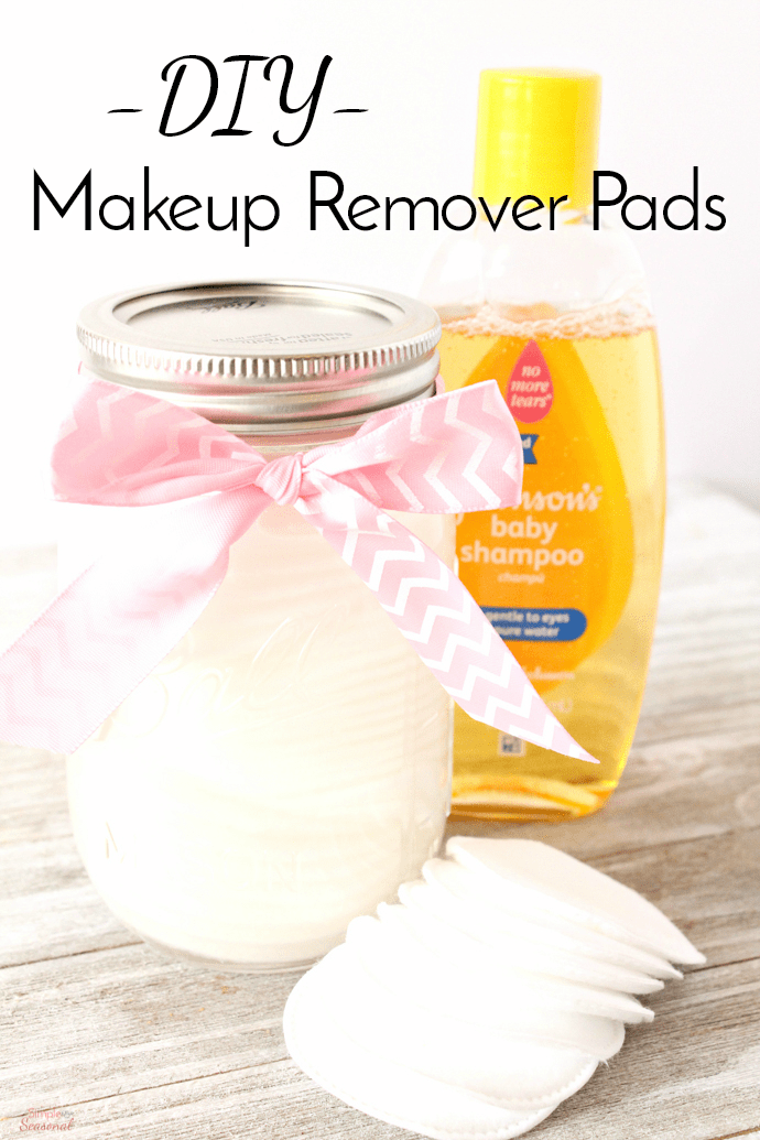DIY Makeup Remover Pads | Simple And Seasonal