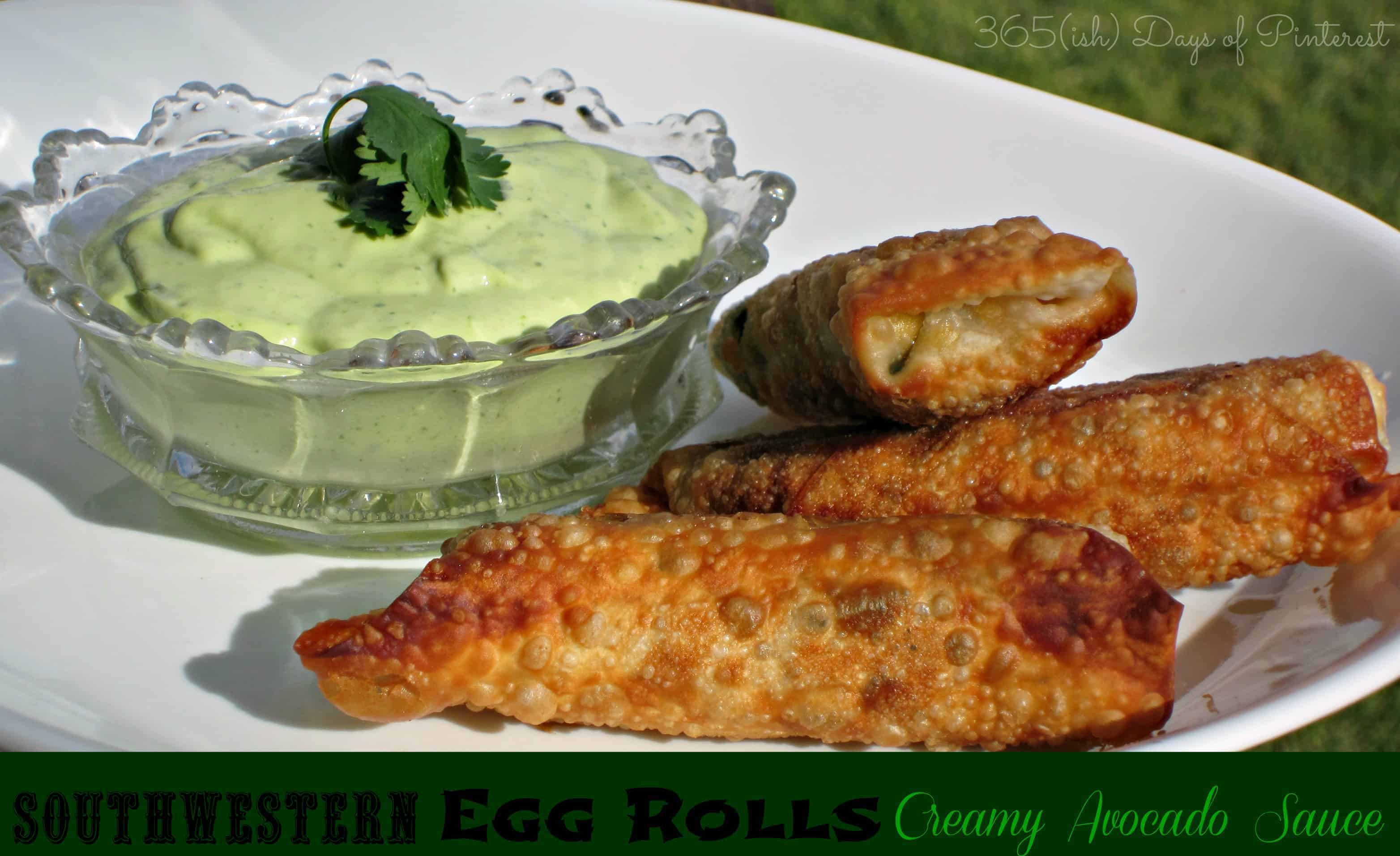 southwestern eggrolls