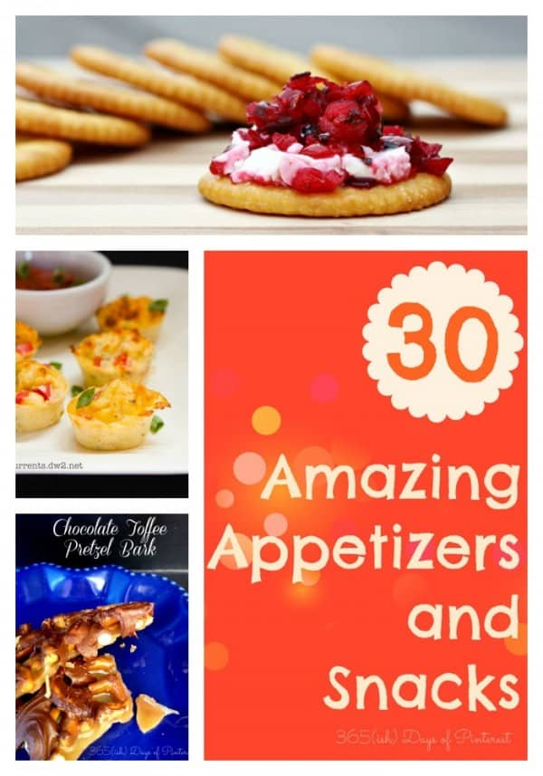 30 appetizer and desserts