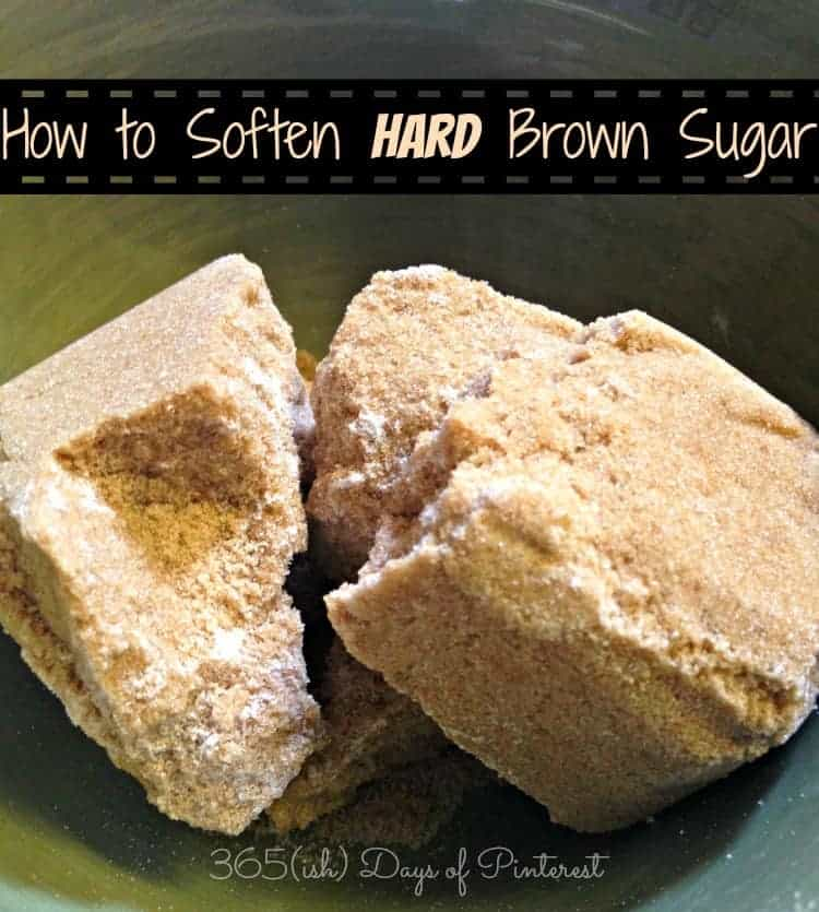 hard brown sugar