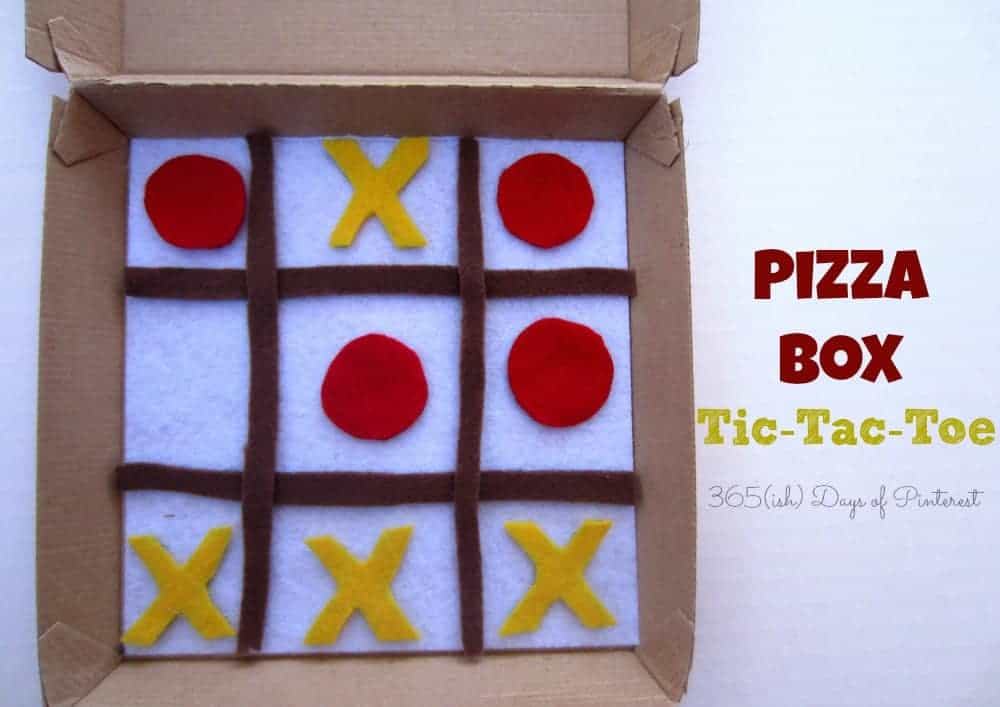 Pizza Box Tic-Tac-Toe: Vol. 2, Day 35