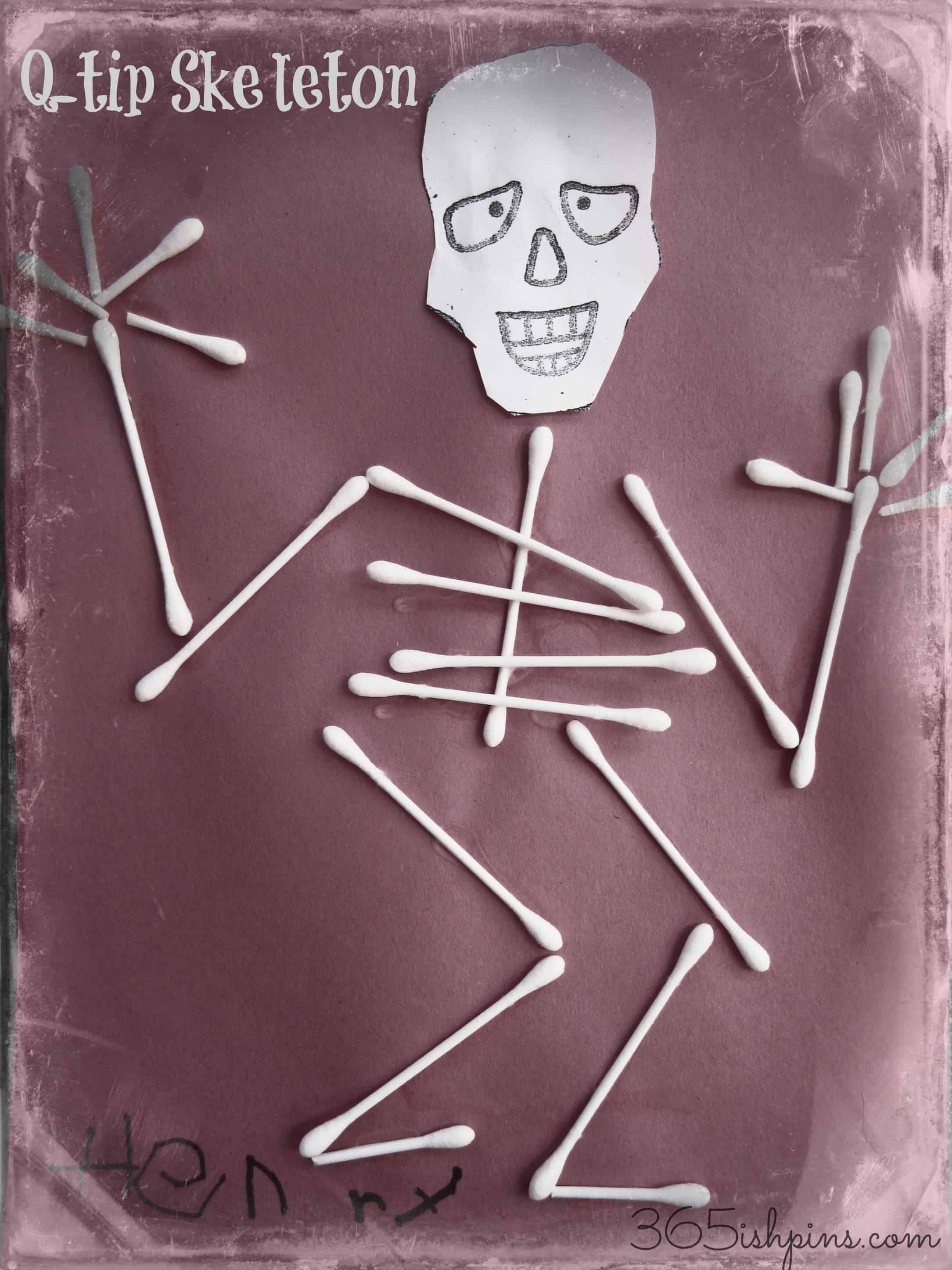 Q-tip Skeletons: Vol. 2, Day 37