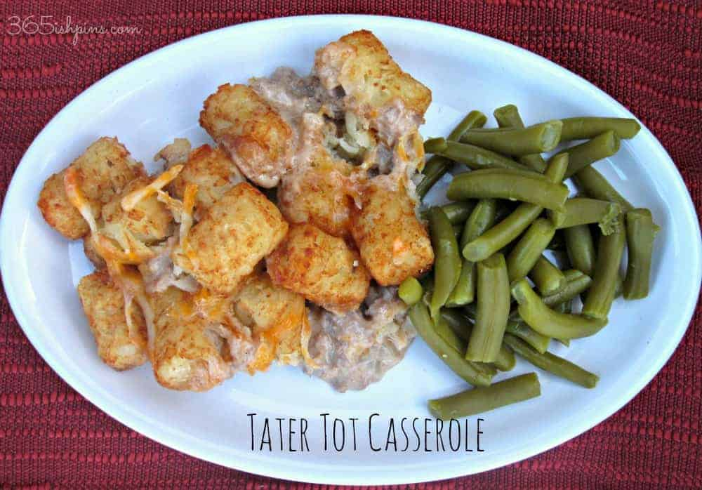 Tater Tot Casserole: Vol. 2, Day 36