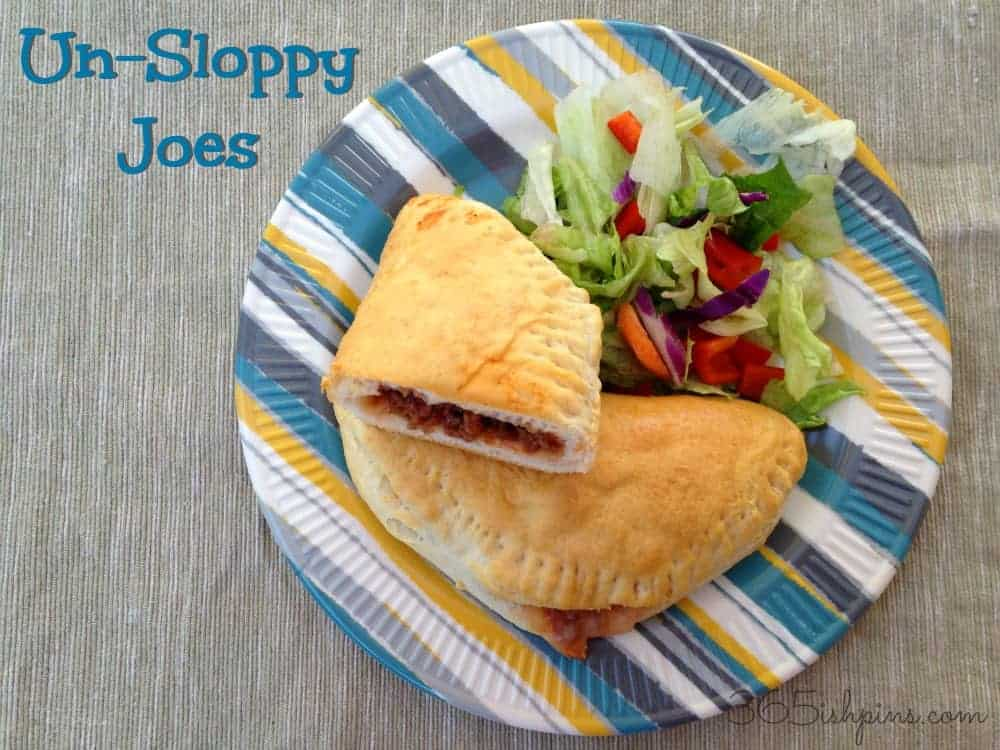 Un-Sloppy Joes