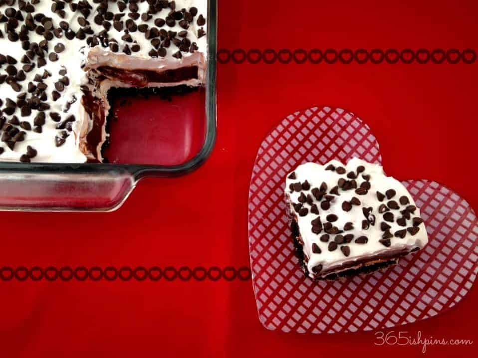 chocolate covered strawberry lasagna