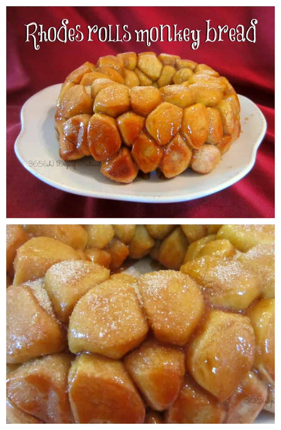 This monkey bread is sticky, sweet and so soft and fluffy inside. It tastes so much better than monkey bread make with biscuits! via @nmburk