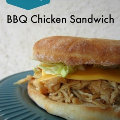BBQ Chicken Sandwiches: Freezer to Slow Cooker Meal
