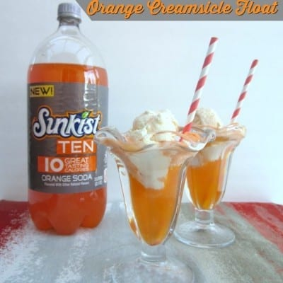 orange creamsicle float lighten up for spring