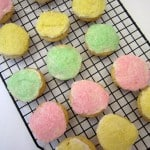 frosted sugar cookies