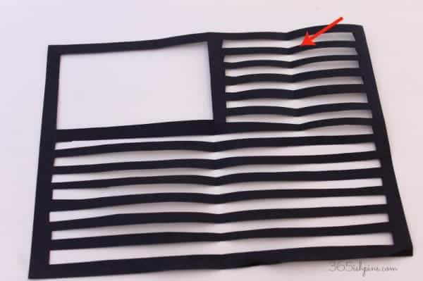 flag craft stripes
