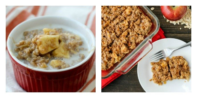 Overnight Apple Oatmeal in the Slow Cooker