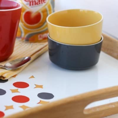 Coffee-mate Inspired Serving Tray