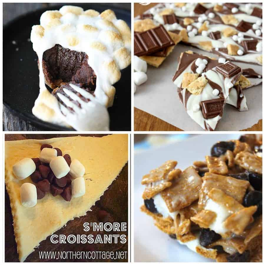 smores collage 1