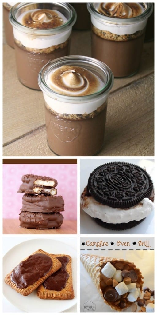 smores collage 4