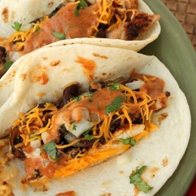 Southwest BBQ Chicken Tacos