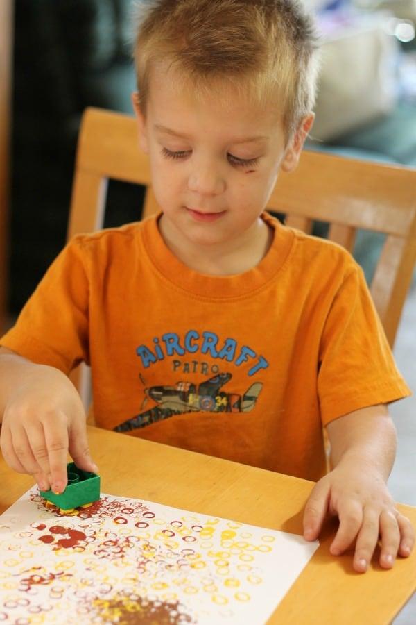 lego stamping