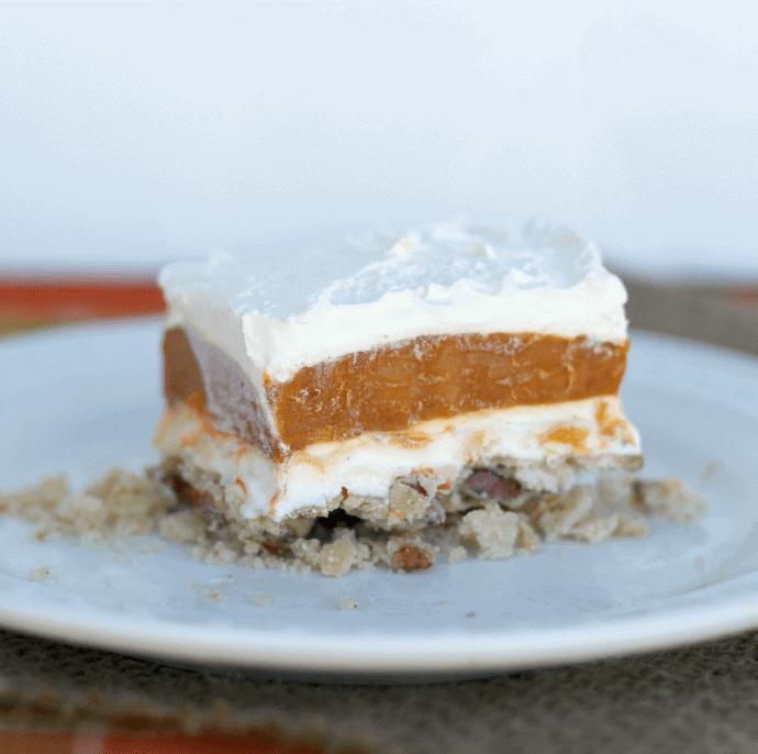 pumpkin spice dessert
