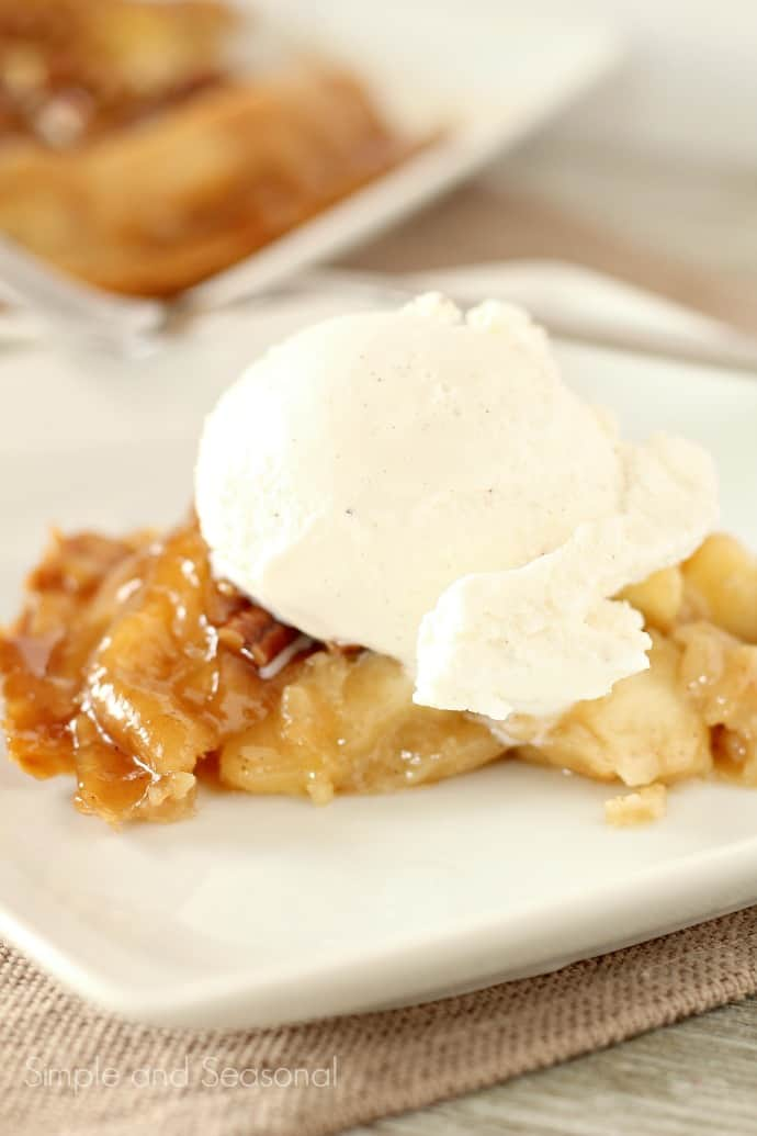 Upside Down Apple Pie