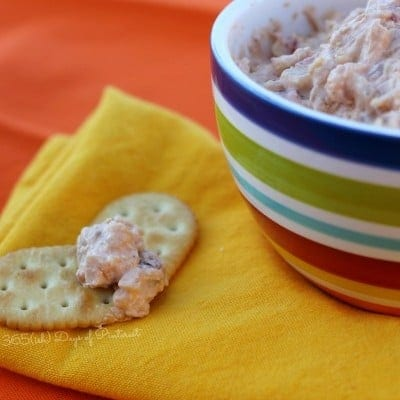 Cheesy Bacon Onion Dip in the Crockpot