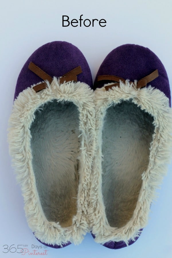 How do you wash something that can't be washed? Slippers get gross and fuzzy slippers lose their fluff after wearing them. Here's the answer!