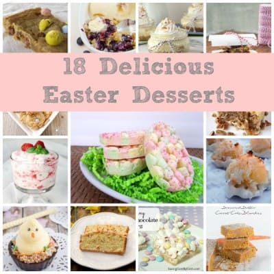 18 Delicious Easter Desserts