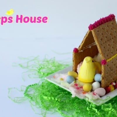 Peeps House: easy Easter activity