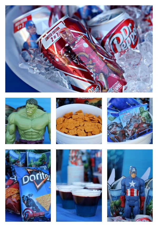 Avenger's Party Food Ideas