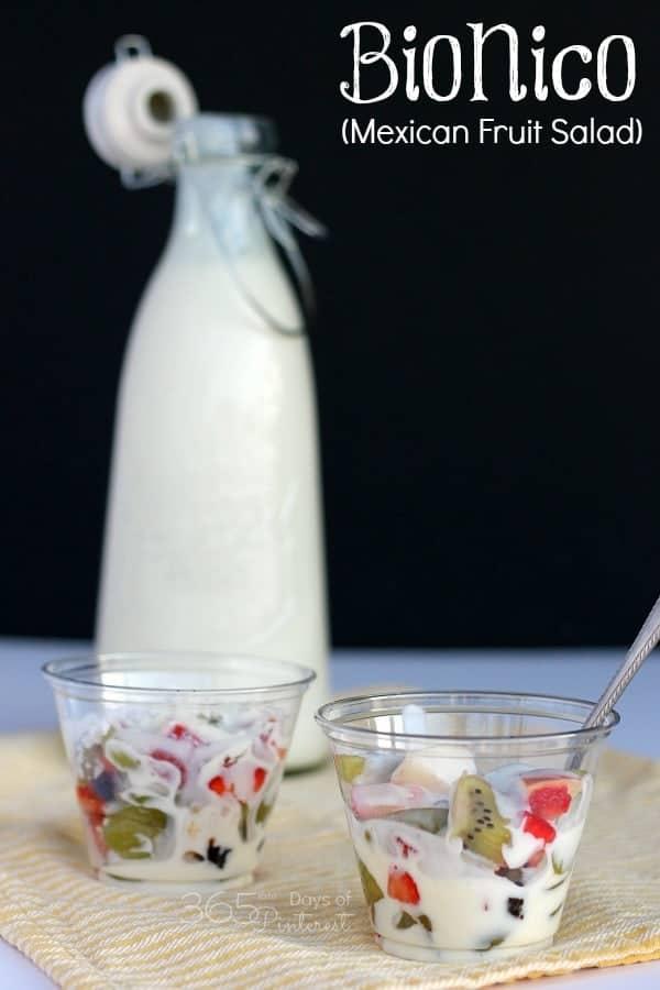 bionico fruit salad