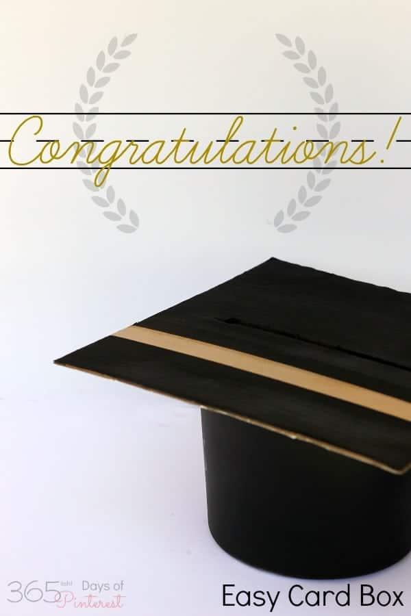 Graduation Cap Card Box Simple And Seasonal