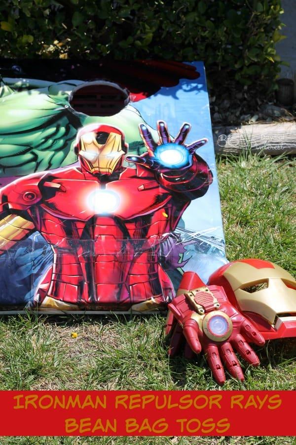 Ironman Repulsor Rays Bean Bag Toss
