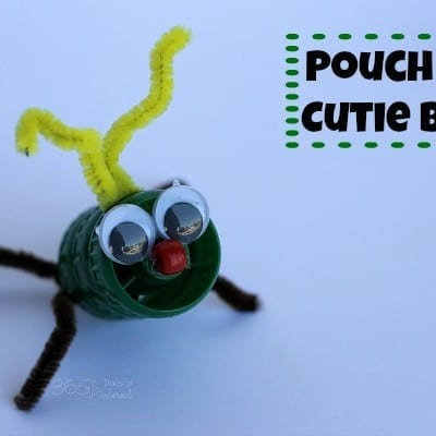 Pouch Cap Bug Craft for Kids