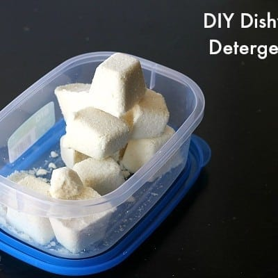 dishwasher tabs detergent DIY