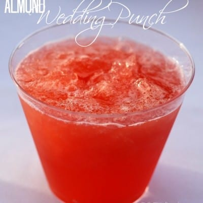 Almond Wedding Punch