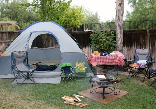 Back Yard Camp Out Images